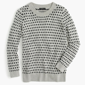 Women computer knitted fancy pullover sweater