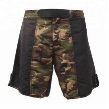 MMA Camo Shorts Training Fight Gym Vechtsport