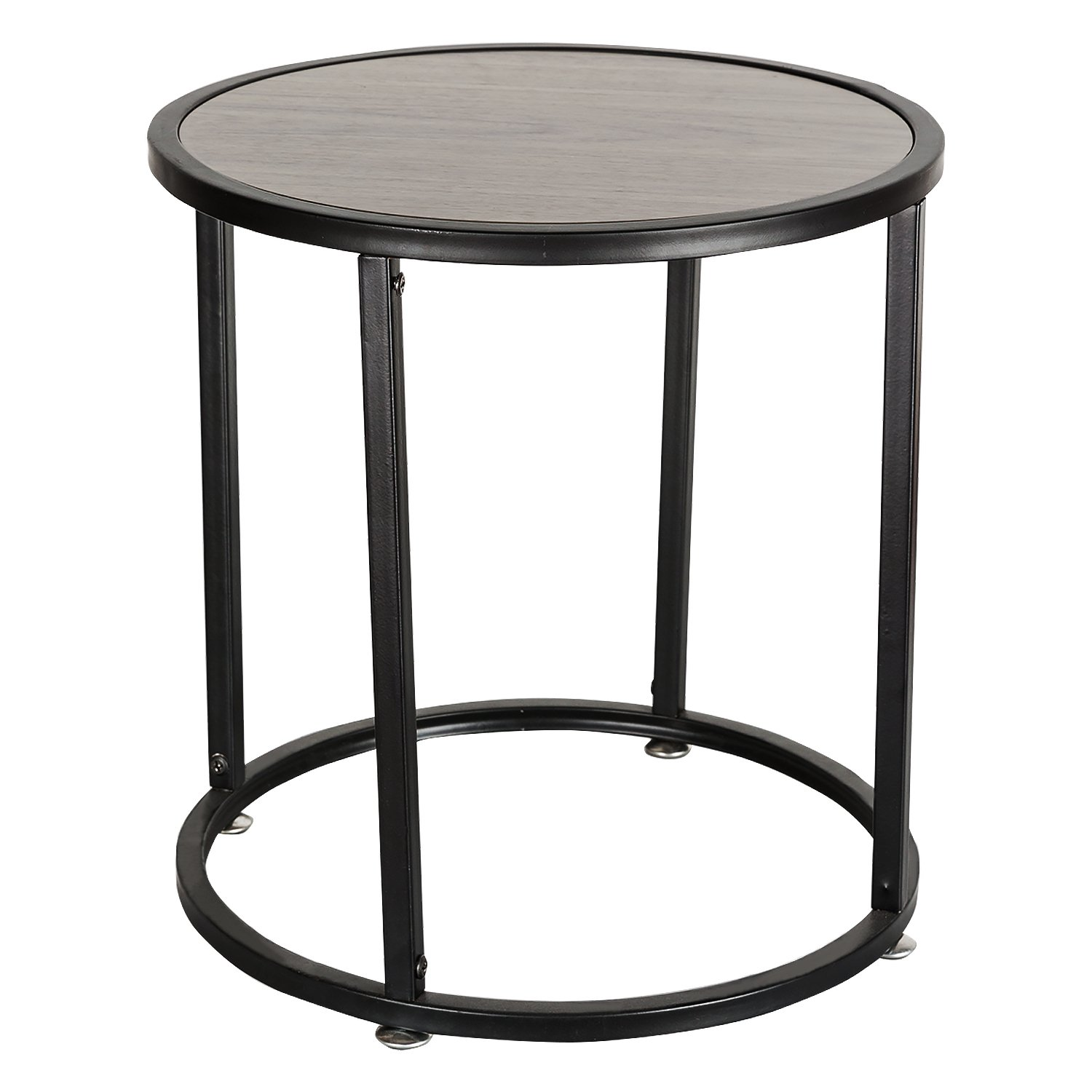 Get Quotations Hollyhome Small Wood Round Coffee Table 15 7 X15 X18 9