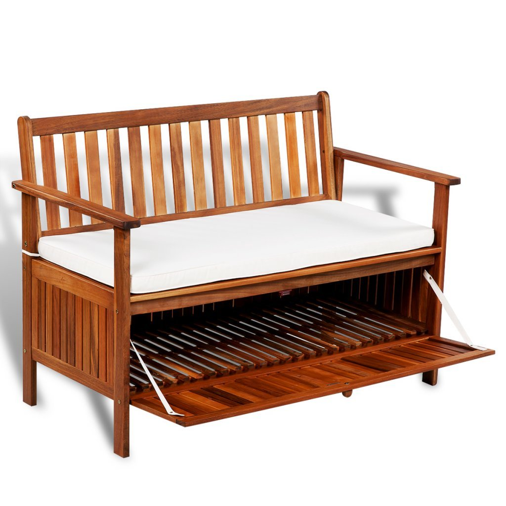 Buy Festnight Outdoor Patio Garden Storage Bench Deck Box ...