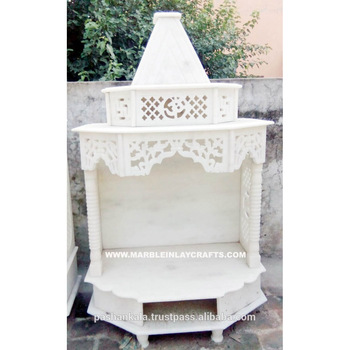 Small Marble Temple Design For Home Buy Hand Carved White Marble