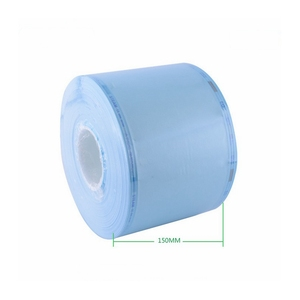 150mm*200m Medical Materials & Accessories Heat Sealable Sterilization Pouch Reel/Rolls/Tube for Steam/EO Sterilization