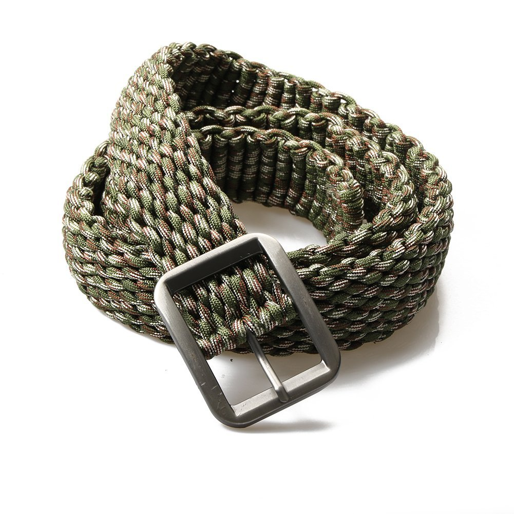 """Choose Your Colour 550lb Paracord 9/"""" Large Bracelet 7 Strands Black Buckle"""
