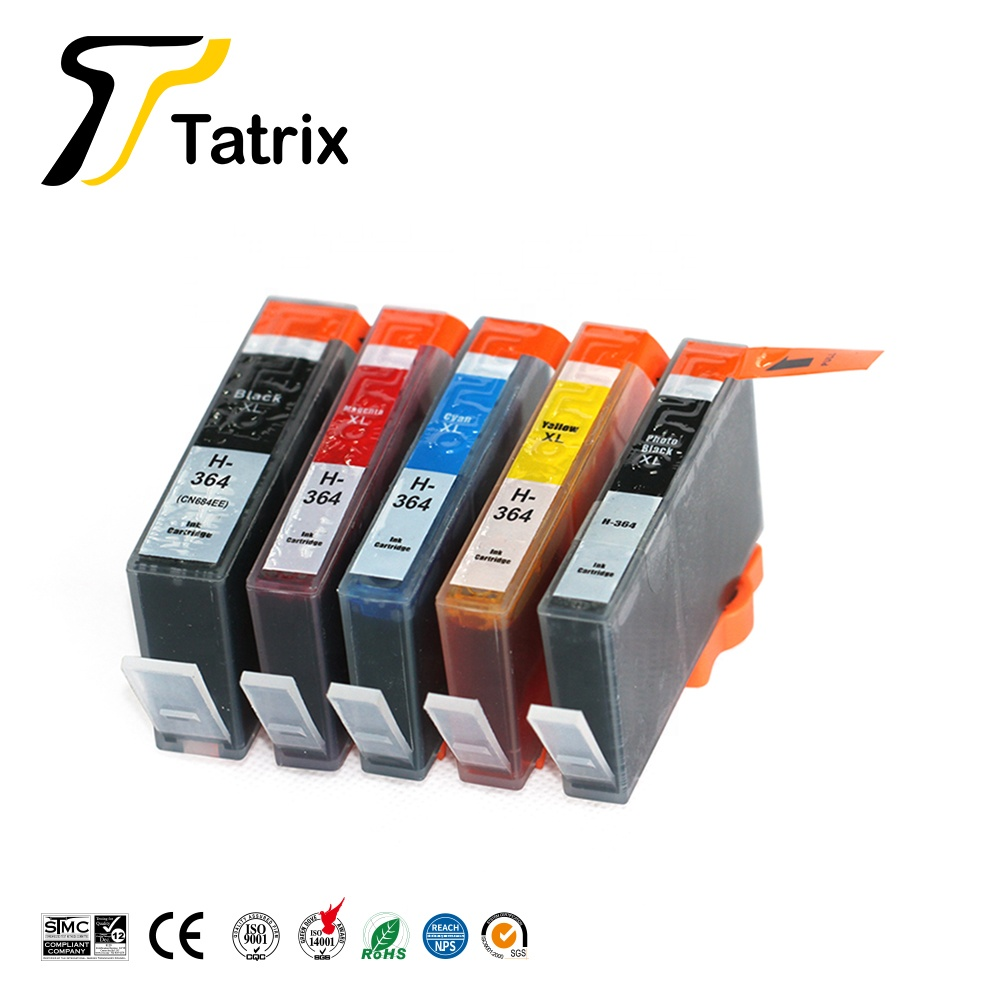 364 364xl compatibele printer inkt cartridge voor HP photosmart C5380 5510 5515 5520 6520 7510 B109a Deskjet 3070A Officejet 4620
