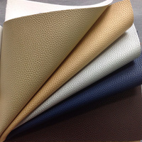 PVC Embossed Leather, PVC Synthetic Leather For Car Seat And Sofa For Cloth