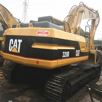 Second Hand 320 excavator cat Running condition 20t Japanese used caterpillar 320B excavator for sale