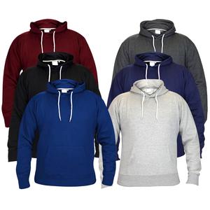 wholesale plain black hoodie custom made, pullover hoodie from Bangladesh factory