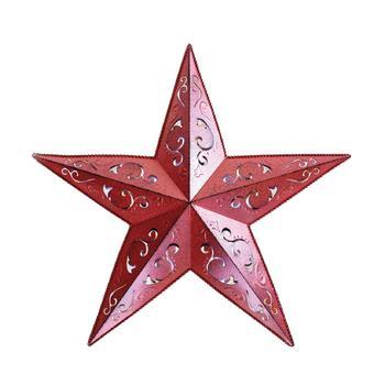 Wall Decor Metal Stars Decoration