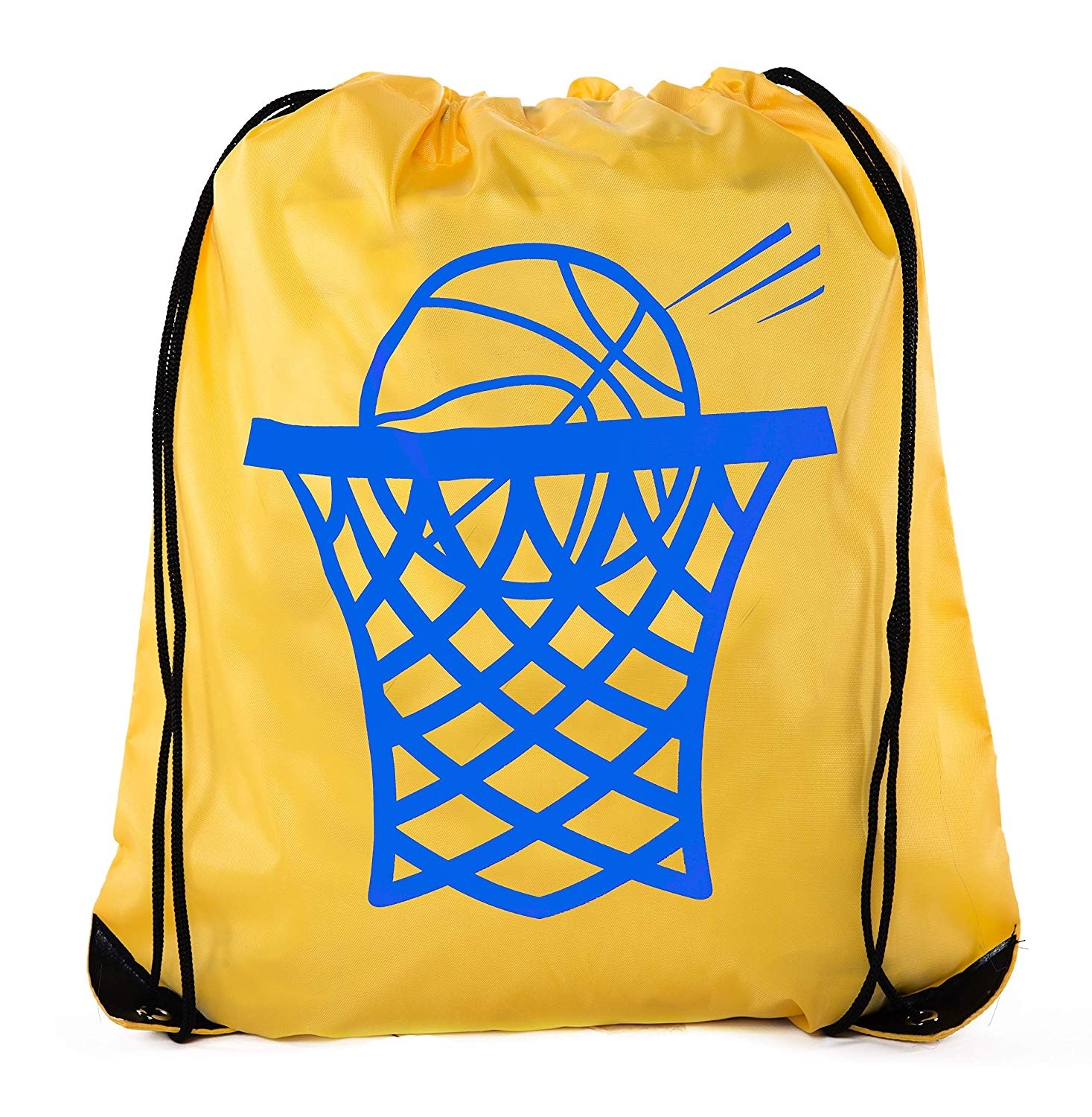 custom logo To accept custom print price China suppliers 210D polyester drawstring bag