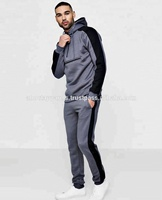 Custom Camouflage Slim Fit tracksuits/ Army style camouflage sweat suits/ Men's tracksuits Grey