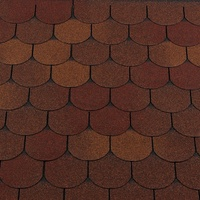 Bitumen roofing Shingles RoofShield Family Light Gothic Cut
