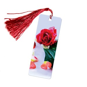 3D Lenticular Flower Bookmark with Tassel Factory Price 3D Depth effect bookmark