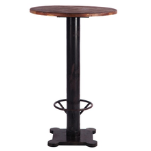 Raahe Bar Table Chairs Modern Industrial Furniture Vintage Style Design Mahogany Teak Wood