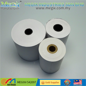 Pos Machine Usage And Thermal Cash Register Paper Roll Paper Type Thermal  Paper 57mm - Buy Thermal Paper Rolls 80x80,Different Paper Types,Thermal