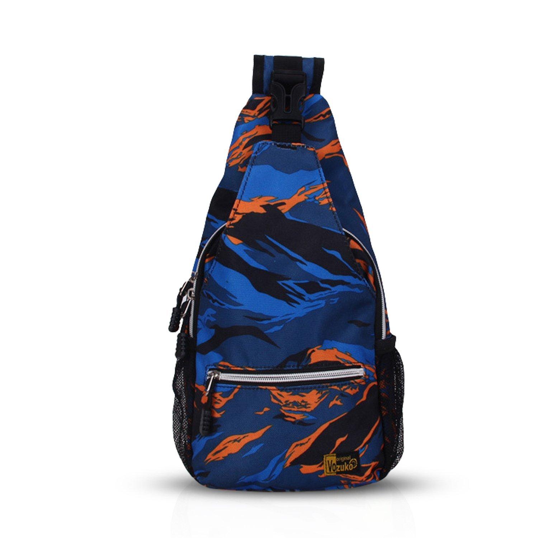 c858ca336002 Get Quotations · FANDARE Sling Bag Shoulder Backpack Crossbody Bag Chest  Pack Bag Single One Strap Bag Men