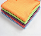 Diamond Microfiber Towel Fish scale cloth French Terry kitchen Microfibre for glass cleaning car care towel