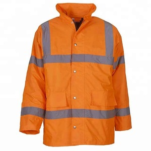 Latest Design Men Longline Workwear Safety Jacket
