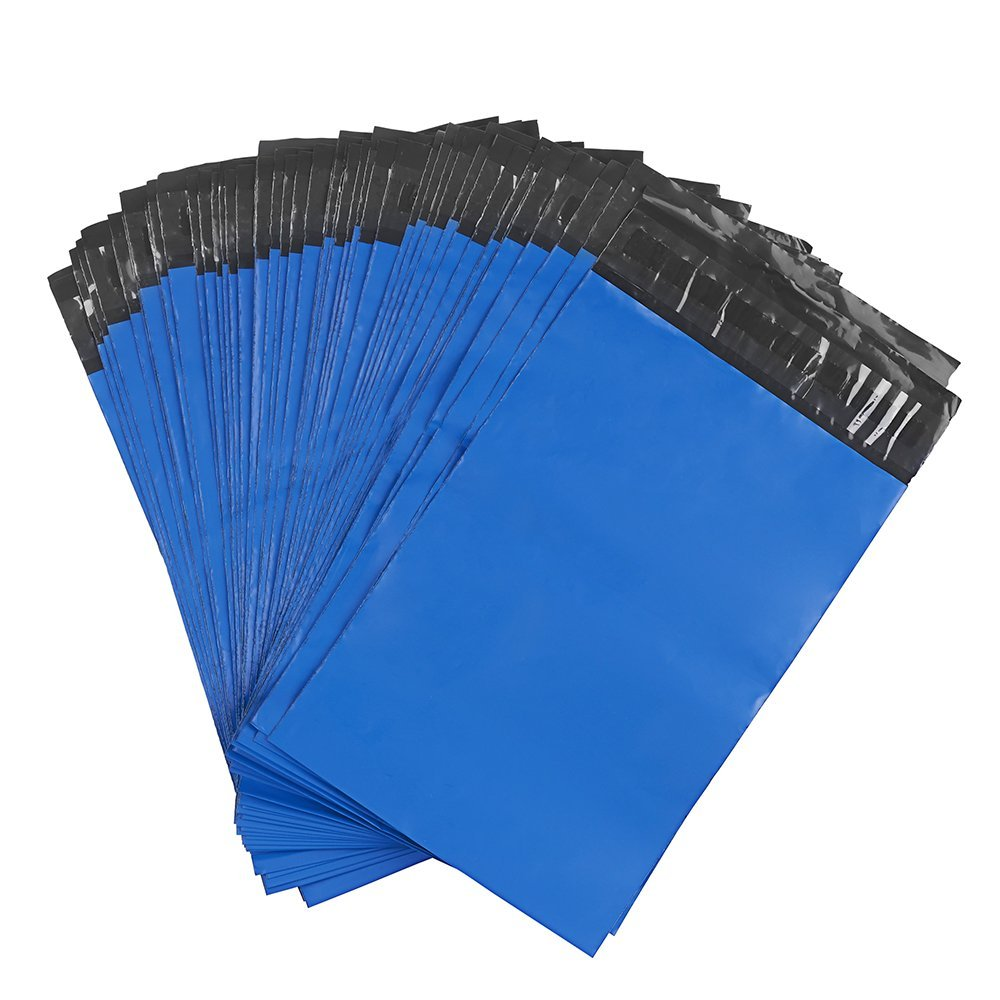 Get Quotations Metronic 100 Pcs Poly Mailers 9x12 Envelopes Blue Shipping Bags Easy Open With Self Adhesive And