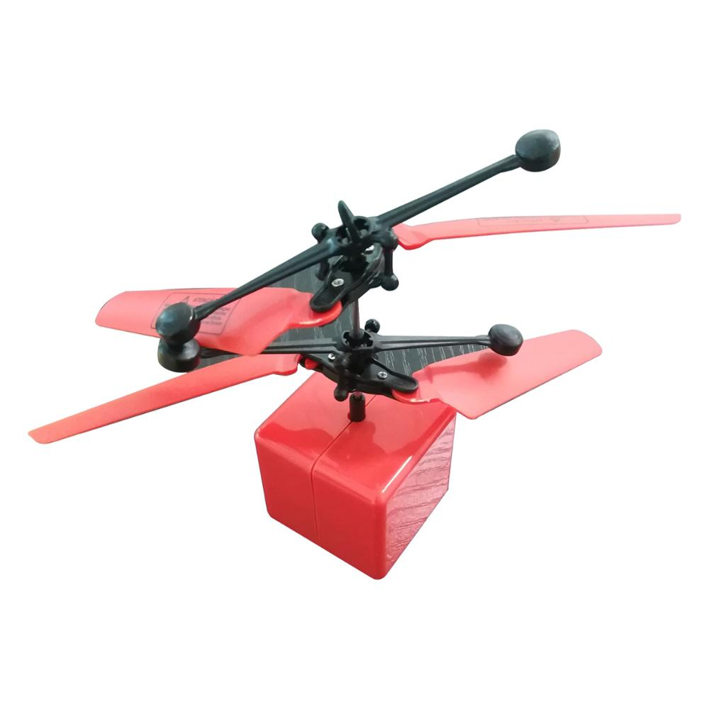 novelty toy fancy flash light flying ufo sensor magical colored ball quadcopter drone from china BR-B22-4