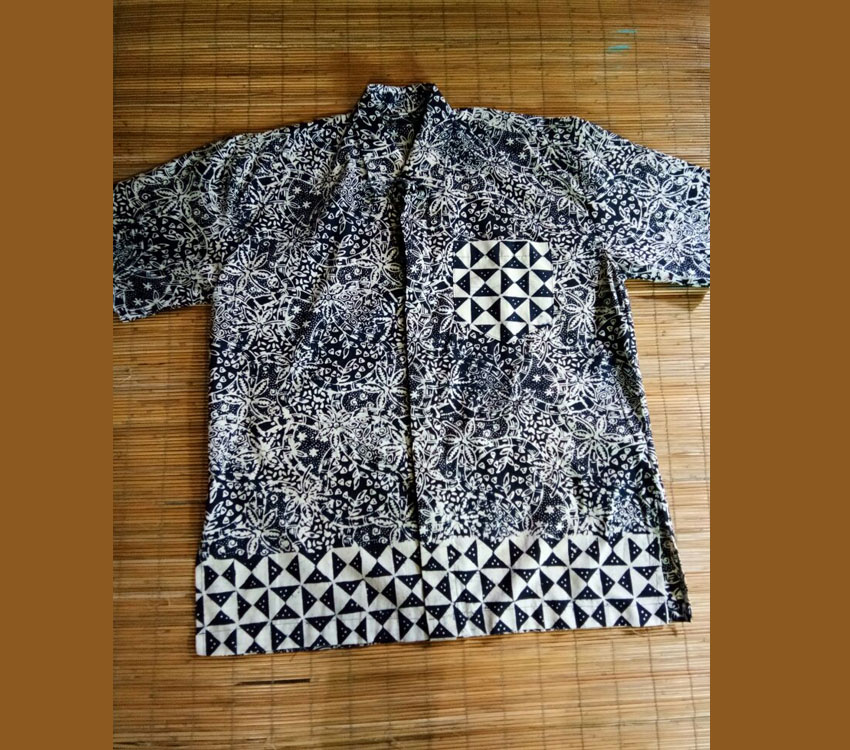 Formal Man Indonesian Batik Shirts Made From Batik