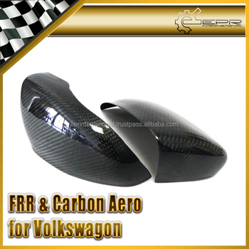 For VW Golf MK6 Carbon Fiber Mirror Cover