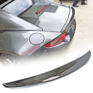Carbon Fiber For Mazda MX-5 ND Miata Convertible Performance Style Rear Boot Trunk Spoiler 2018