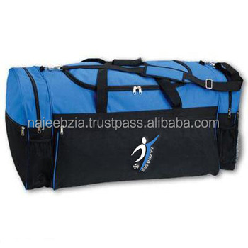Heavy Duty Duffle Sports Bags With Custom Print - Buy Sports Bags No ... 125390c8d73