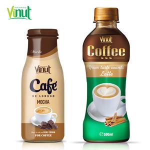 280ml PET bottle Latte Coffee