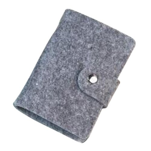 Card Holder - TOOGOO(R) Vintage Womens Pouch ID Credit Card Wallet Cash Holder Organizer Case Box Pocket, card holder, Light gray