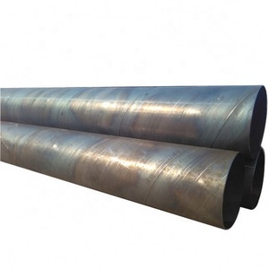 API Spec 5l Hot Rolled Spiral Weld Erw Round Welded Carbon Steel Pipe