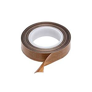 PTFE Coated Fabric Teflon Tape Adhesive Tape High Temperature Teflon Tape for Vacuum, Hand and Impulse Sealers (1/2-inch x 30 feet) - Fits FoodSaver, Seal A Meal, Weston, Cabella's and Many More
