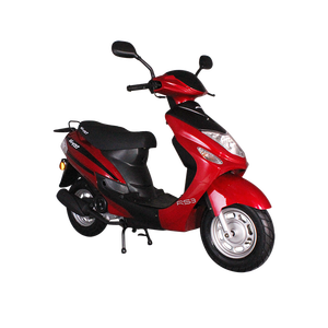 REVOLT RS3 EEC L1e Euro 3 50cc 4 Stroke Gasoline Single Cylinder Engine 2  Wheel Long Range Powerfull High Quality Moped Scooter