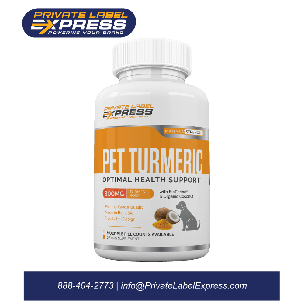 Pet Turmeric W/bioperine & Coconut,120 Count Bacon-flavored Tablets - Buy  Turmeric Capsules,Coconut Oil,Dog Joint Supplement Product on Alibaba com