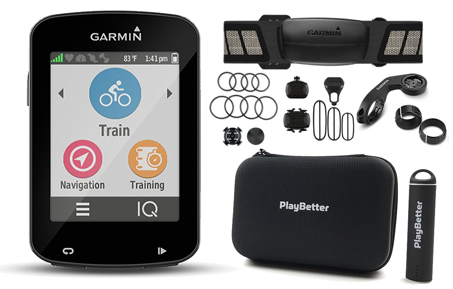 Cheap Cadence Cycle Computer Find Deals On Spidometer Cateye Strada Get Quotations Garmin Edge 820 Bundle With Chest Hrm Speed Sensors Playbetter Silicone