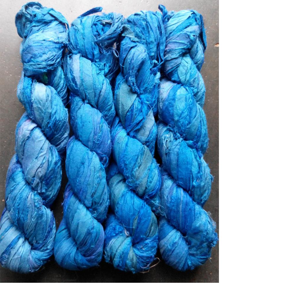 Sari Silk Ribbon Yarns - Buy Raw Silk Yarn,Spun Silk Yarn,Fancy Ribbon Yarn  Product on Alibaba com