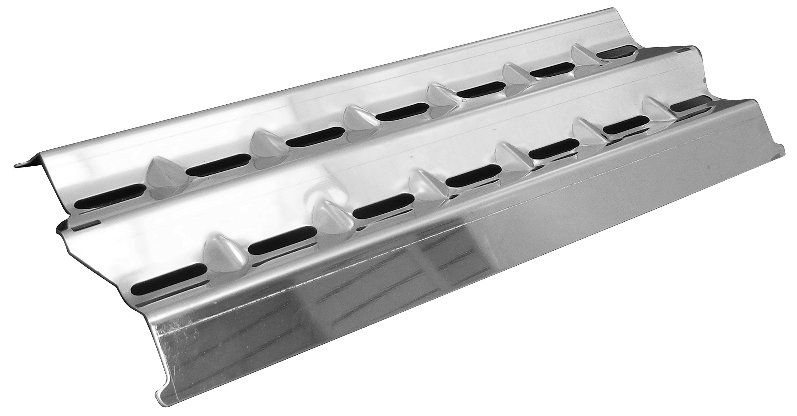 Music City Metals 94001 Stainless Steel Heat Plate Replacement for Select Broil King and Sterling Gas Grill Models