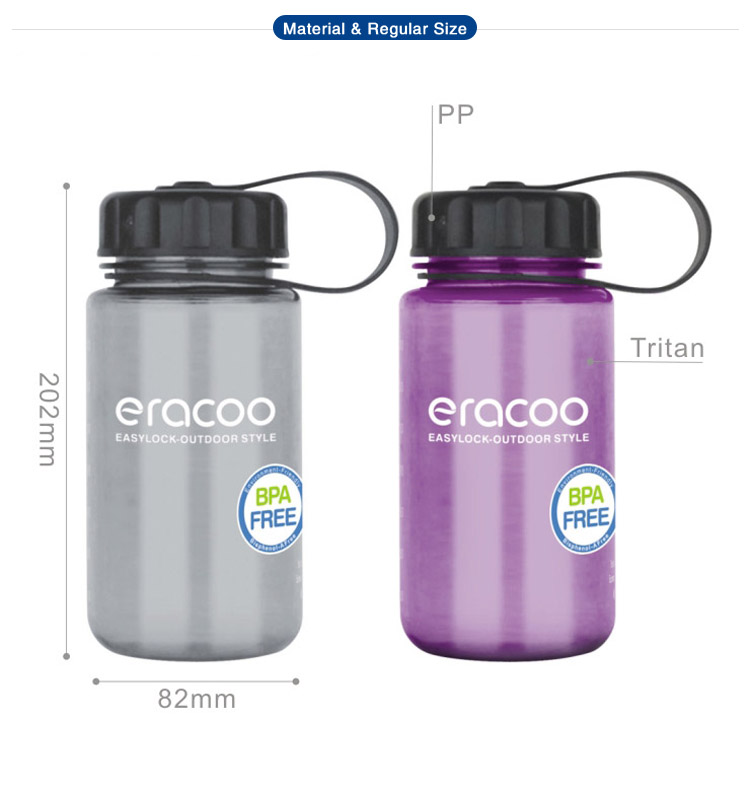 1 Litre Wide Mouth Eco BPA Free Tritan Plastic Sports Water Bottle