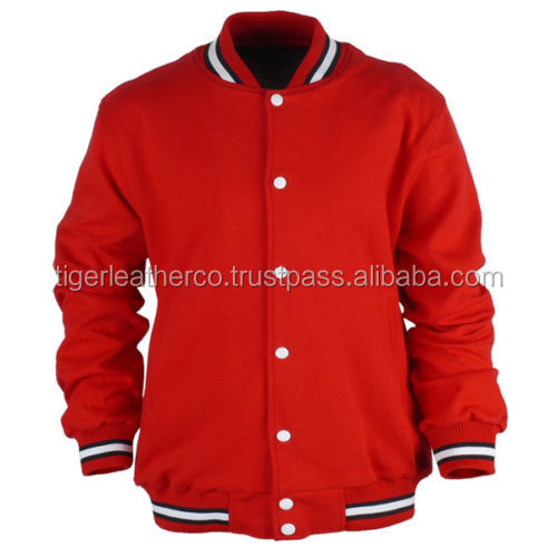 Clothing manufacturer portugal kids varsity wool bomber jackets