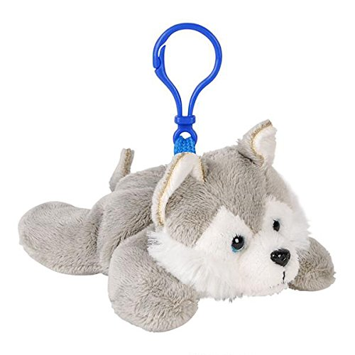 PET CUSHION ANIMAL PILLOW HUSKY BACK PACK WOLF BACKPACK PLUSH /& PLUSH BRAND