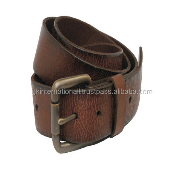 2015 Promotion Leather belt with Auto Buckle