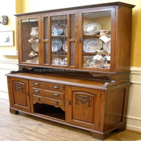 Decorative Antique Hand Carved Wooden Cabinet ~ Solid Wooden Almirah ~ Wardrobes
