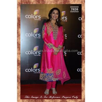Ethnic Latest Designer Pink Color Suit Party Wear Dress - Buy ...