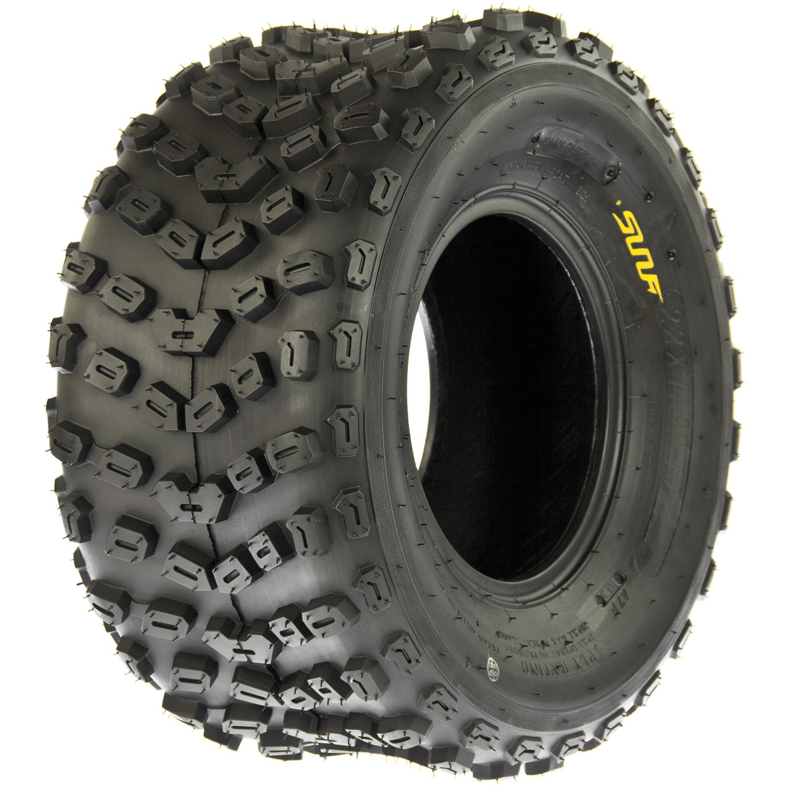 SunF A005 ATV Tires 22x11-10 Rear, 6 Ply