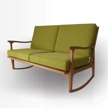 Scandinavisch Design Schommelstoel.Scandinavische Meubels Houten Schommelstoel 2 Zetels Ontwerp Buy