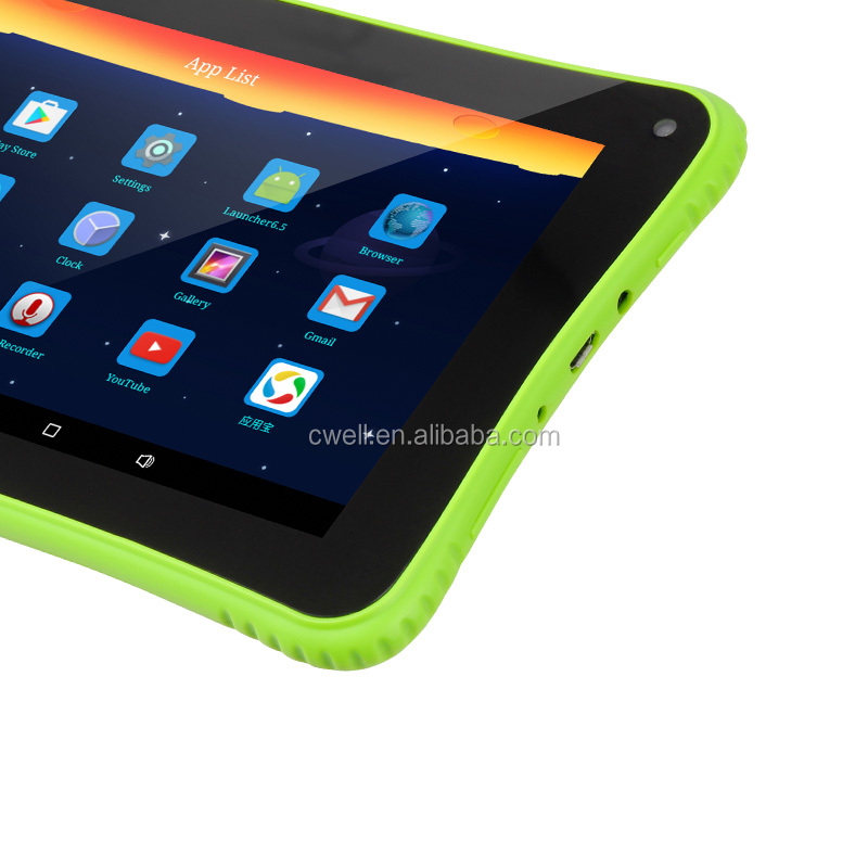 Built-in Children Education Apps 8GB ROM Kid Android Tablet Multi-Colors Optional