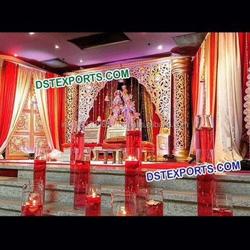 New Design Wedding Stage Setmuslim Decor For Wedding Reception