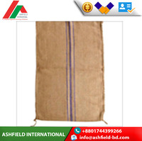Hot sale high quality large jute hessian gunny sack bag for agriculture coffee bags nuts cocoa bean