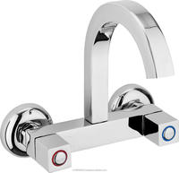 Low Price Classic Style Model Rounded Header Bath Kitchen and Washbasin Faucet