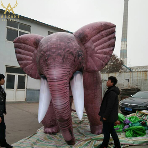 2m inflatable Simulation of the elephant toys,custom inflatable animal for advertising