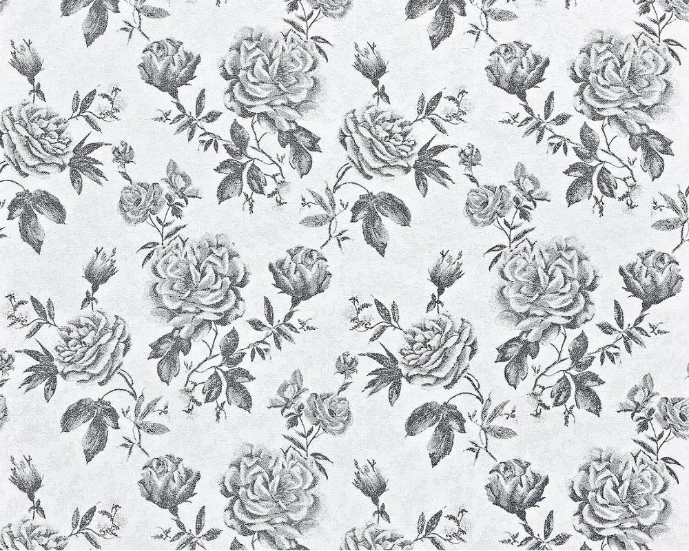 Background Wallpaper Bunga Mawar Hitam Putih WallpaperShit